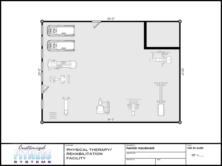 Gym Floor Plans Customized Fitness